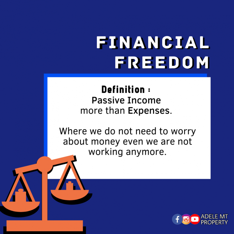 Enjoy Your Financial Freedom with 3 Assets