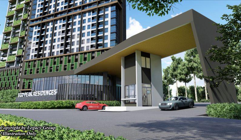 First Home : Eco Peak Residences, Penampang (Condominium)